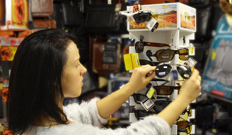 продажа солнцезащитных очков оптом и в розницу