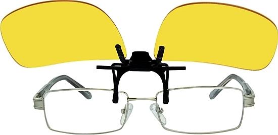 клипон на поляризационные очки